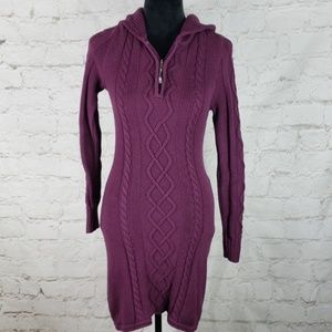 Athleta Hut to Hut cashmere blend sweater dress S